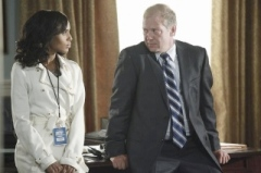 Scandal's Olivia and Cyrus