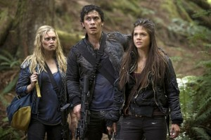 Clarke, Bellamy and Octavia all evolve--and all bleed.